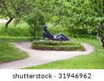 the pushkin monument in his... | Shutterstock . vector #31946962