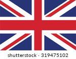 flag of united kingdom | Shutterstock .eps vector #319475102