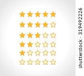 stars rating | Shutterstock .eps vector #319492226