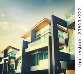 contemporary residential...   Shutterstock . vector #319517222