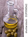 olive oil | Shutterstock . vector #319558562