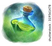 green magic potion