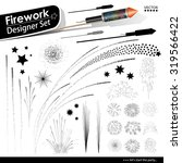 Collection Of Vector Firework...