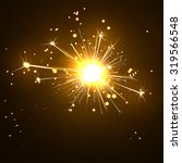 glowing  sparkling and...   Shutterstock .eps vector #319566548