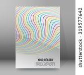 modern geometrical grey... | Shutterstock .eps vector #319577642