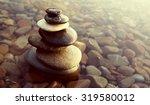 Zen Balance Rocks Pebbles...
