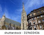 stephansdom cathedral on... | Shutterstock . vector #319603436