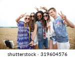 nature  summer  youth culture ... | Shutterstock . vector #319604576