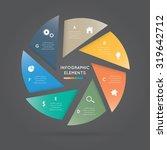 modern infographic for business ... | Shutterstock .eps vector #319642712
