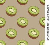 seamless fruits pattern with...   Shutterstock .eps vector #319650296