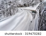 winter driving | Shutterstock . vector #319670282