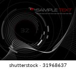 abstract technology background  ... | Shutterstock .eps vector #31968637