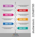 timeline infographics vertical... | Shutterstock .eps vector #319689785