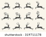 Vintage Christmas Deer...