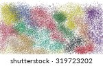 texture abstraction with drops... | Shutterstock . vector #319723202