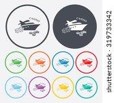 vector illustartion of poker... | Shutterstock .eps vector #319733342