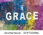 "the word "" grace "" design by... 