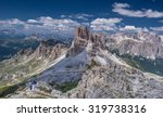 averau nuvolau group  col di... | Shutterstock . vector #319738316