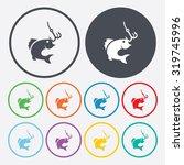 vector illustartion of fishing... | Shutterstock .eps vector #319745996