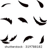 set of leaves for eco design. | Shutterstock .eps vector #319788182