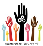 vector version of colorful... | Shutterstock .eps vector #31979674