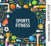 sport vector logo design...   Shutterstock .eps vector #319797218