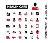 health care icons | Shutterstock .eps vector #319802186