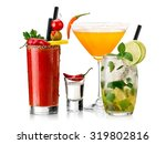 color cocktails | Shutterstock . vector #319802816
