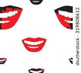 Seamless Pattern With A Smile
