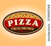 pizza sign   Shutterstock .eps vector #319840568