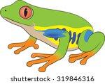 tree frog   vector  ...