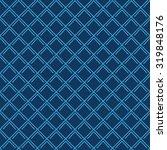 seamless navy blue vintage art...   Shutterstock . vector #319848176