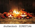 Illuminated Halloween Pumpkins...