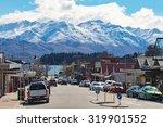 Wanaka Town New Zealand...