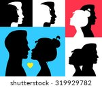 vector illustration. man and... | Shutterstock .eps vector #319929782
