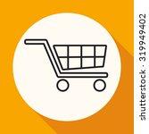 handcart icon | Shutterstock . vector #319949402