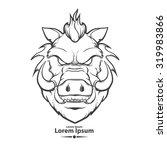 Boar For Logo  American...