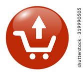 shopping cart flat icon.