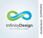 infinity design logo template | Shutterstock .eps vector #319994492
