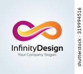 infinity design infinity logo... | Shutterstock .eps vector #319994516