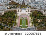 paris. view from the eiffel... | Shutterstock . vector #320007896
