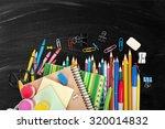 school supplies. | Shutterstock . vector #320014832