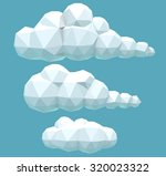 vector illustration of a set of ... | Shutterstock .eps vector #320023322