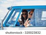 summer holidays  road trip ... | Shutterstock . vector #320023832