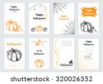collection of 8 halloween cards....