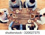 business  people  break and... | Shutterstock . vector #320027375