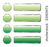 vector illustration of green... | Shutterstock .eps vector #32003473