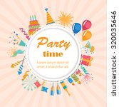 party and celebration... | Shutterstock .eps vector #320035646