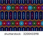 tribal pixel pattern   Shutterstock . vector #320043398