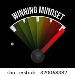 Winning Mindset Meter Sign...